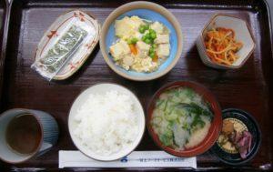 アローンズ大阪 食事一例